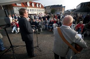 EU-møde på Storetorv i Thisted