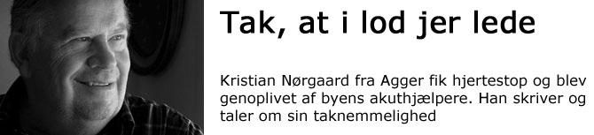 Kristian Nørgaard, Agger.